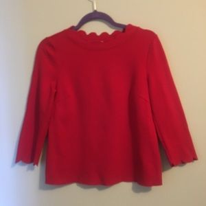 Everleigh Red Blouse
